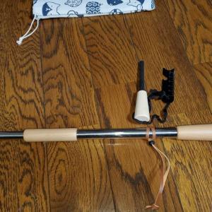 最近買った、キャンプアイテム  火吹き棒