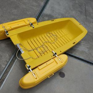 ボートエース艤装編  1日目 サイドフロートと平リブの取り付け
