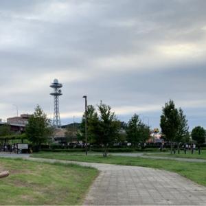 新横浜公園ドッグランへ行きました。
