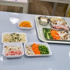 第1ワンコごはん講座 「ふだん使いの食材で作るワンコごはん」開催しました。