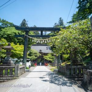 梅雨入り前日の榛名神社・・・2