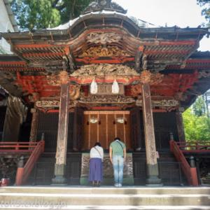 雨入り前日の榛名神社・・・14