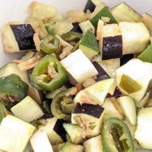 新潟の郷土料理「きりざい」 &イカと納豆の一品