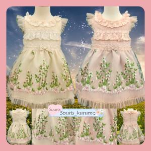 フラワーガーデンドレス