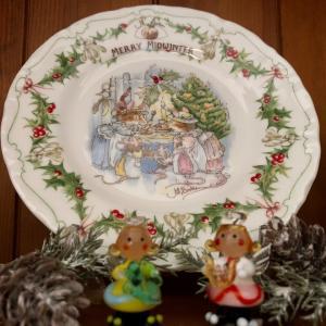 クリスマスのお皿と久しぶりの雑貨屋さん☆