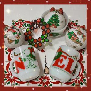 Happy Holiday ☆ クリスマスのお皿など