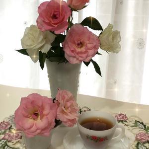 お花と刺繍