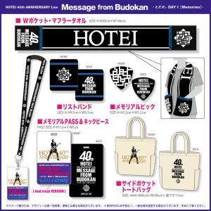 布袋!40周年記念武道館公演2Daysのグッズ付きチケットのグッズデザイン決定!
