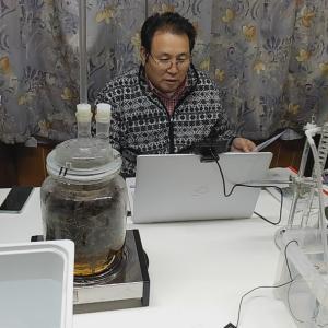 水蒸気蒸留研究会 雫1リモート講座はじまりました。