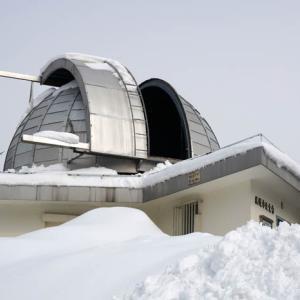 冬の札幌市天文台