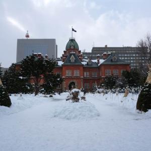 冬の赤レンガ庁舎(北海道庁旧本庁舎)