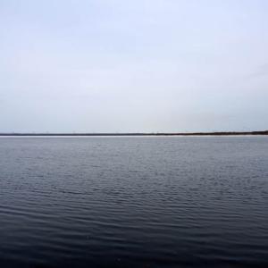 凍結したウトナイ湖散策