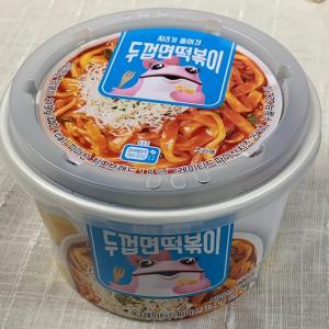 韓国なのに生麺のカップ麺?