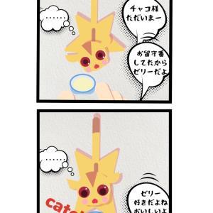 お留守番∑( ̄Д ̄;)