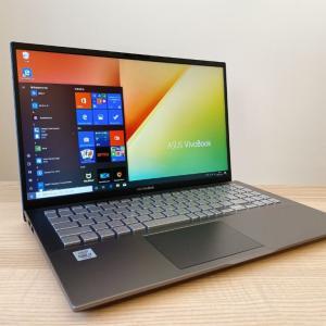 【ASUS VivoBook S15(S531FA)レビュー】WiFi6対応!普段使いに最適なスタンダードノートパソコン