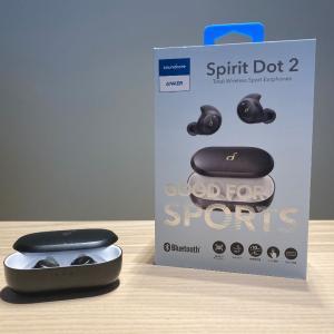 【Anker Soundcore Spirit Dot 2 レビュー】耳に収まるスリムデザイン&低音寄りの完全ワイヤレスイヤホン