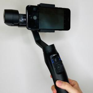 【MOZA Mini-MI レビュー】外撮り、Vlogにおすすめ。ワイヤレス充電対応のスマホジンバル