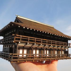 金閣寺と幻の天鏡閣制作終盤