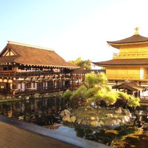 約2年振りの金閣寺と幻の天鏡閣1/100完成