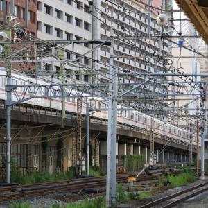 品川駅に到着する山手線や京浜東北線車両 (2019年8月 オマケは西大井駅)