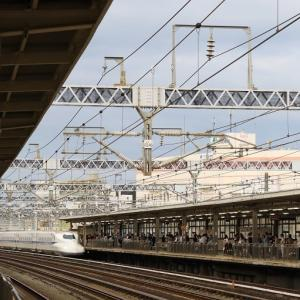 東海道新幹線「こだま695号」と「のぞみ3号」からの車窓 (2019年9月 広島旅)