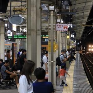 東海道本線浜松駅到着 373系普通列車豊橋行き (2019年10月)