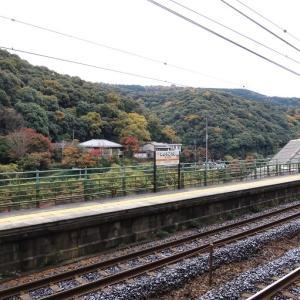 中央本線は定光寺駅付近の風景その1(2019年11月)