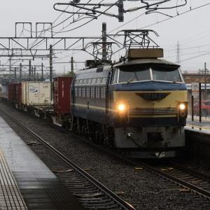 久しぶり地元駅で撮影 EF66 27 2079レ (2020年2月 オマケは夕方の貨物など)