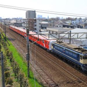 EF65  東京メトロ甲種 (2020年4月 浜松-天竜川 オマケはソメイヨシノと311系)