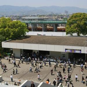 京阪3000系 地平時代の京都競馬場付近 (2007年4月 在庫でドン)