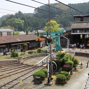 天竜浜名湖鉄道は天竜二俣駅の転車台ほか(2011年5月 在庫でドン)
