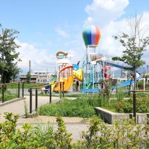 静岡市は「池田東静岡公園」付近の風景 (2020年7月ほか オマケは鐘淵紡績線跡を辿る)
