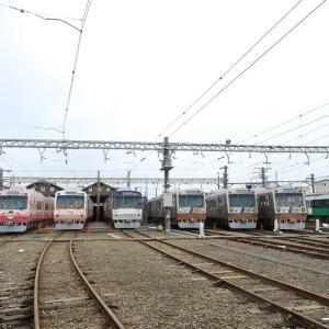 静岡鉄道長沼車庫 「ありがとう1000形同時展示イベント」(2020年9月26日)