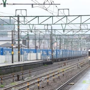 東海道本線は草薙駅 特急「ワイドビューふじかわ3号」と「トヨタロンパス」 (2020年9月ほか)
