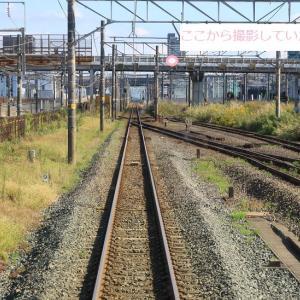 EF66 27 1089レに道を譲る「トヨタロンパス」 (2020年10月 草薙駅)