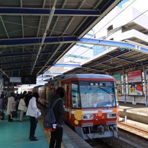 遠州鉄道は八幡駅近く 浜松八幡宮は雲立の楠(2021年4月)