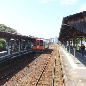 天竜浜名湖鉄道は「ゆるキャン△ ラッピング列車」 春の車窓その1(2021年4月)