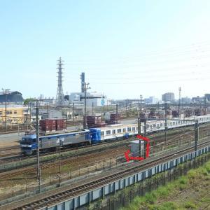 静岡貨物駅停車中 EF210メトロ甲種など貨物(2021年4月 オマケは静岡駅前ほか)