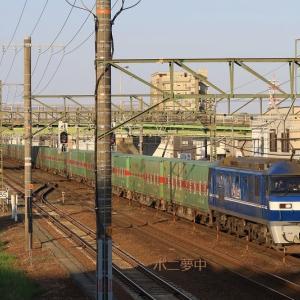 EF210-112 福山通運54レ (2021年4月 天竜川駅付近)
