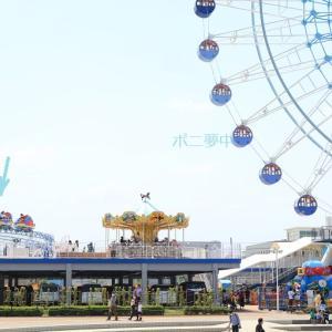 静岡市清水区 エスパルスドリームプラザのミニ遊園地 (2021年5月9日 オマケEF210貨物)