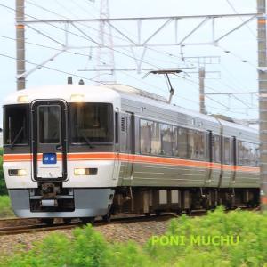373系「快速」静岡行きかしら(2021年6月13日 地元)