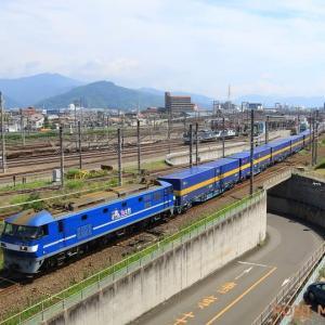 EF210-112 2059レ発車 (2021年7月 静岡貨物駅)
