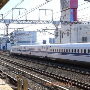 東海道新幹線 浜松-掛川間の車窓 (2021年7月)