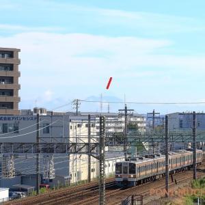 東海道本線天竜川駅近くの跨線橋からの撮影(2021年9月 貨物など)