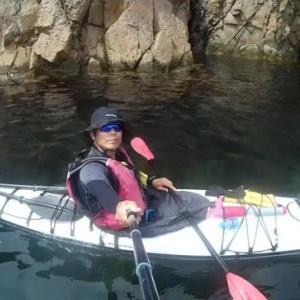 ぶらカヤック 益田の海 三隅の海 UP