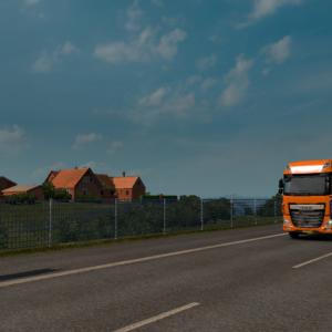 Euro Truck Simulator 2 で海外旅行気分を味わう