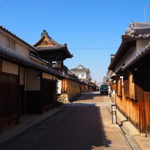 富田林 江戸時代にタイムスリップしたような寺内町の街並み