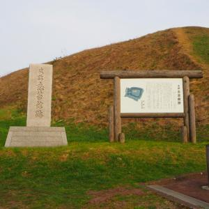 志苔館 海沿いにある和人の館跡