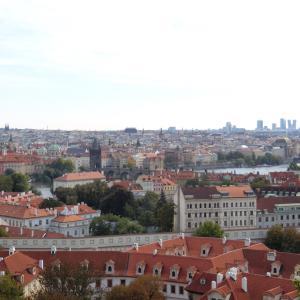 プラハ1日観光②カレル橋やらチェコ料理やら