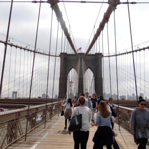 ニューヨーク観光②!ブルックリン橋やら自由の女神やら